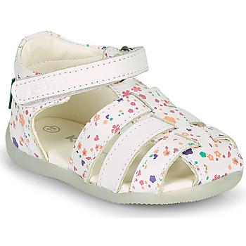 Pantofi Fete Sandale  Kickers BIGFLO-2 Alb