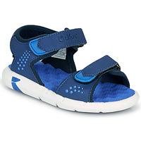 Pantofi Băieți Sandale  Kickers JUMANGAP Albastru