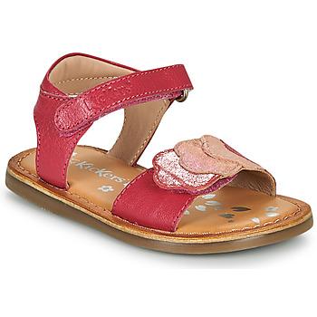 Pantofi Fete Sandale  Kickers DYASTAR Roz