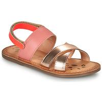 Pantofi Fete Sandale  Kickers DYACROSS Roz