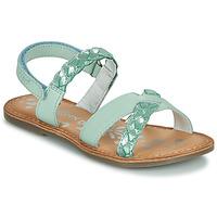 Pantofi Fete Sandale  Kickers DIMDAMI Albastru