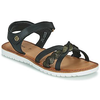 Pantofi Fete Sandale  Kickers BETTYL Negru