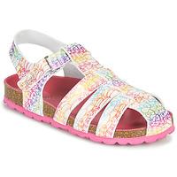 Pantofi Fete Sandale  Kickers SUMMERTAN Alb