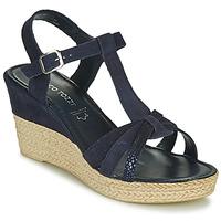 Pantofi Femei Sandale  Marco Tozzi ANNA Albastru