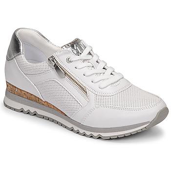 Pantofi Femei Pantofi sport Casual Marco Tozzi BELLA Alb