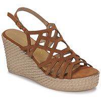 Pantofi Femei Sandale  Marco Tozzi FRANCINE Coniac