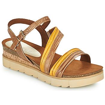 Pantofi Femei Sandale  Marco Tozzi LIZZA Coniac