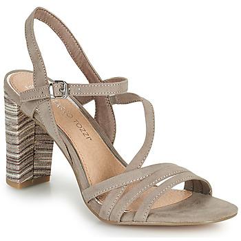 Pantofi Femei Sandale  Marco Tozzi BALEINA Bej