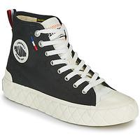 Pantofi Pantofi sport stil gheata Palladium PALLA ACE CVS MID Negru / Alb