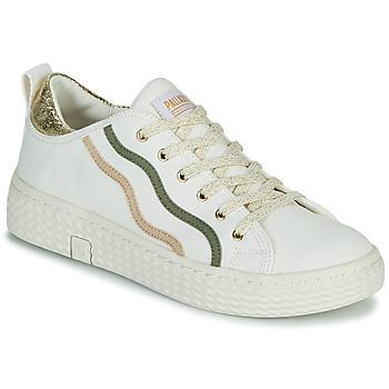 Pantofi Femei Pantofi sport Casual Palladium Manufacture TEMPO 02 CVSG Alb