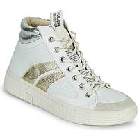 Pantofi Femei Pantofi sport stil gheata Palladium Manufacture TEMPO 03 TXT Alb