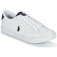 Pantofi Copii Pantofi sport Casual Polo Ralph Lauren THERON IV Alb / Albastru