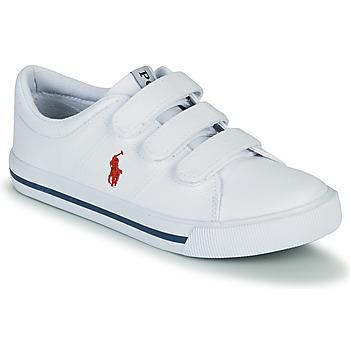 Pantofi Copii Pantofi sport Casual Polo Ralph Lauren ELMWOOD EZ Alb