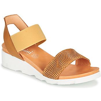 Pantofi Femei Sandale  Felmini DARA Maro / Bej