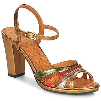 Pantofi Femei Sandale  Chie Mihara ADIEL Verde / Bronz