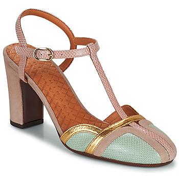 Pantofi Femei Pantofi cu toc Chie Mihara INMA Bej / Roz / Auriu