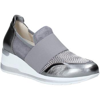 Pantofi Femei Pantofi Slip on Melluso R20413 Argint