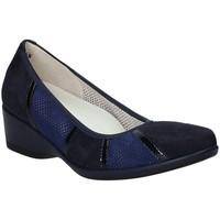 Pantofi Femei Balerin și Balerini cu curea Melluso R30532 Albastru