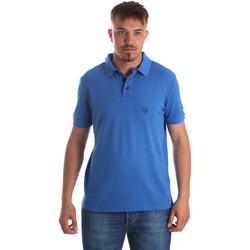 Îmbracaminte Bărbați Tricou Polo mânecă scurtă Gaudi 911BU64063 Albastru