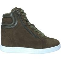 Pantofi Femei Pantofi sport stil gheata Fornarina PI18EL1147S034 Verde