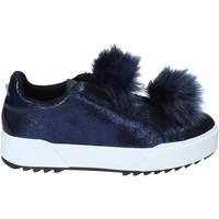 Pantofi Femei Pantofi Slip on Apepazza HYB04 Albastru