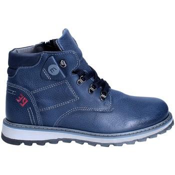 Pantofi Băieți Ghete Melania ME6029F8I.B Albastru