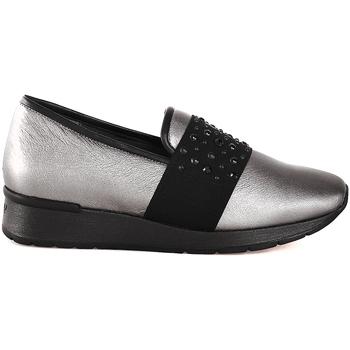 Pantofi Femei Pantofi Slip on Melluso R25017P Gri