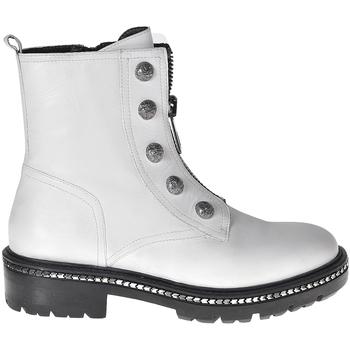 Pantofi Femei Ghete Elvio Zanon I6507G Alb