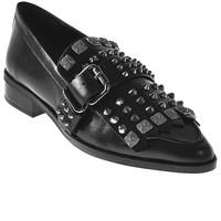 Pantofi Femei Mocasini Elvio Zanon I7704G Negru