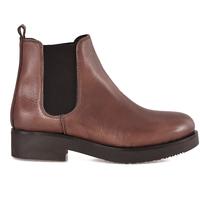 Pantofi Femei Botine Mally 5535 Maro