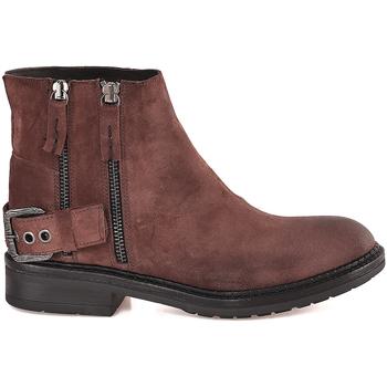 Pantofi Femei Botine Mally 6324 Maro