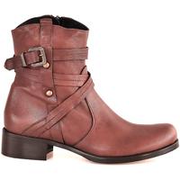 Pantofi Femei Botine Mally 6431 Maro