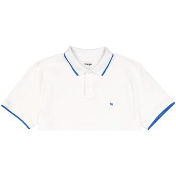 Îmbracaminte Bărbați Tricou Polo mânecă scurtă Wrangler W7D5K4989 Alb