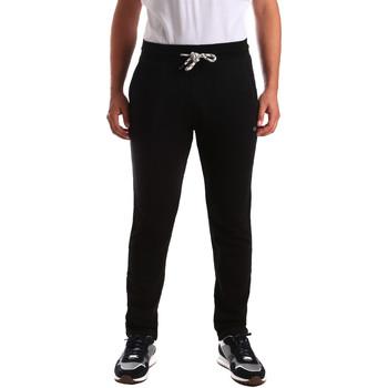 Îmbracaminte Bărbați Pantaloni de trening Key Up 2F36E 0001 Negru