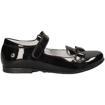Pantofi Fete Balerin și Balerini cu curea Melania ME2031D7I.A Negru