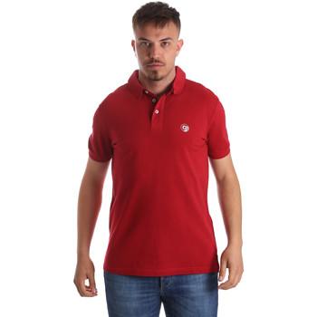 Îmbracaminte Bărbați Tricou Polo mânecă scurtă Gaudi 911BU64063 Roșu