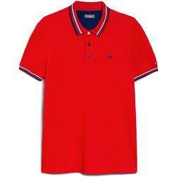 Îmbracaminte Bărbați Tricou Polo mânecă scurtă Nero Giardini E072390U Roșu