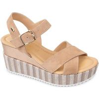 Pantofi Femei Sandale  Valleverde 32435 Bej