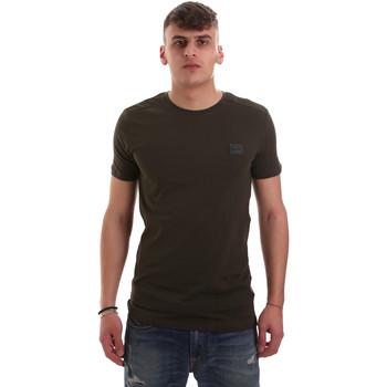 Îmbracaminte Bărbați Tricouri mânecă scurtă Antony Morato MMKS01417 FA120001 Verde