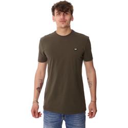 Îmbracaminte Bărbați Tricouri mânecă scurtă Antony Morato MMKS01737 FA120022 Verde