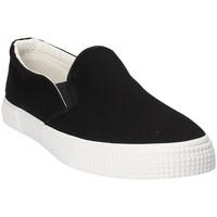 Pantofi Bărbați Pantofi Slip on Gas GAM810165 Negru