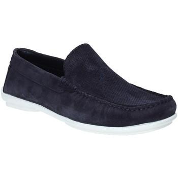 Pantofi Bărbați Mocasini Impronte IM91080A Albastru