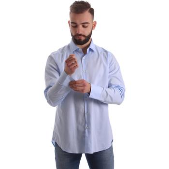 Îmbracaminte Bărbați Cămăsi mânecă lungă Gmf 962111/21 Albastru