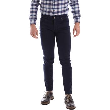 Îmbracaminte Bărbați Pantalon 5 buzunare Sei3sei 02696 Albastru