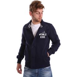 Îmbracaminte Bărbați Jachete Key Up FGS7 0001 Albastru