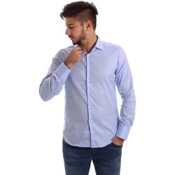 Îmbracaminte Bărbați Cămăsi mânecă lungă Gmf 962103/03 Albastru