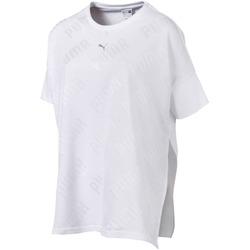 Îmbracaminte Femei Tricouri mânecă scurtă Puma 575090 Alb