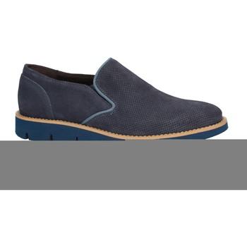Pantofi Bărbați Mocasini Rogers 1702B Albastru