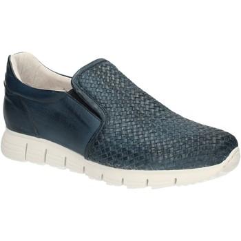 Pantofi Bărbați Mocasini Exton 339 Albastru