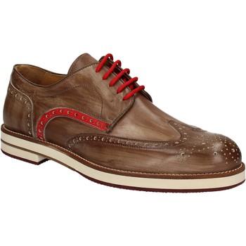 Pantofi Bărbați Pantofi Derby Exton 609 Maro